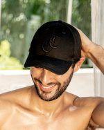 BURLEIGH CAP BLACK