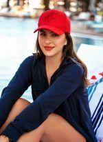 BURLEIGH CAP RED